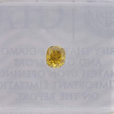 af8e66f301 Image Unavailable. Image not available for. Color: 0.18 Carat Fancy Deep  Orange Yellow Loose Diamond Natural ...