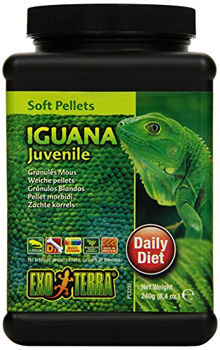 Exo Terra Soft Juvenile Iguana Food, 8.4-Ounce
