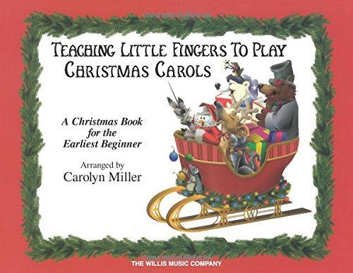 Music Angels The Hark Herald Sheet Piano Sing (Teaching Little Fingers to Play Christmas Carols: A Christmas Book for the Earliest Beginner)