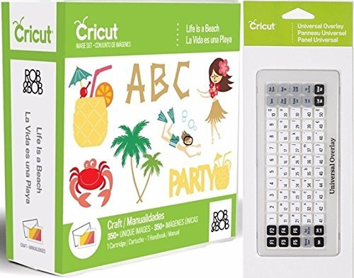 Cricut Life is a Beach Cartridge + Universal Keypad Overlay (Cartridges Cricut Beach)