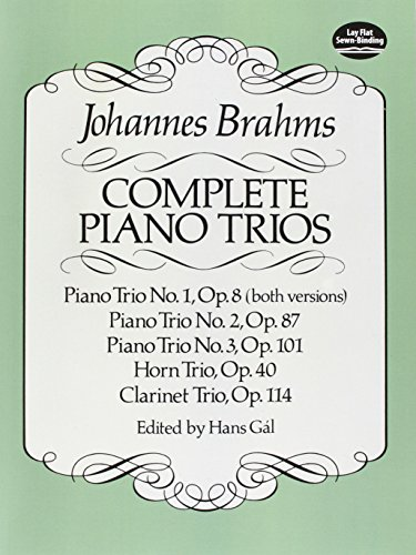 Complete Piano Trios (Dover Chamber Music Scores)