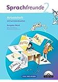 Sprachfreunde - Ausgabe Nord 2010 (Berlin, Brandenburg, Mecklenburg-Vorpommern): 2. Schuljahr - Arbeitsheft mit CD-ROM