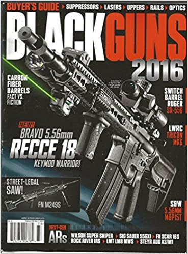 Black Guns Magazine 2016 (Harris Outdoor Group # 173): Various