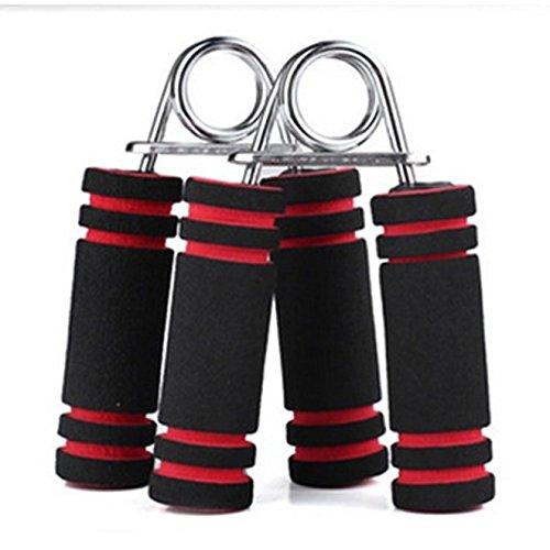 fomccu 1pieza mano pinza gimnasio de fitness ejercitador agarre la muñeca antebrazo entrenamiento de fuerza