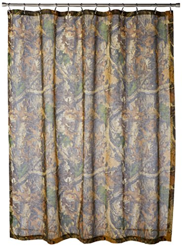 Realtree Timber Shower Curtain (Lodge Timber Furniture)