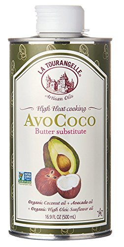 La Tourangelle, AvoCoco Oil, 16.9 Fl. Oz, All-Natural, Artisanal, Gourmet Oils, Great for Salads, Fruit, Fish or Vegetables, Great Buttery Flavor
