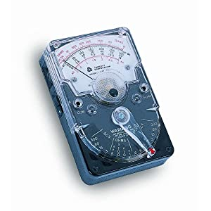 Triplett 3018 Hand-Sized Analog Voltmeter, 18 Ranges and Functions