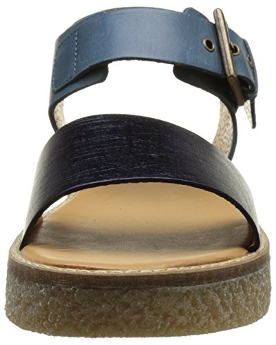 Women's Victory Kickers Open Sandals Blau Bleu Toe qFwT1wZ