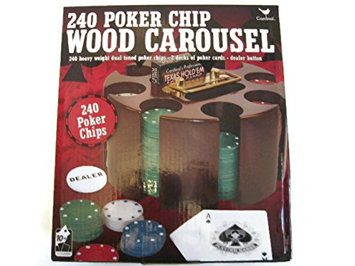 240 Poker Chip Wood Carousel by Cardinal