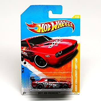 Amazon Com Hot Wheels New Models Dodge Challenger Drift Car