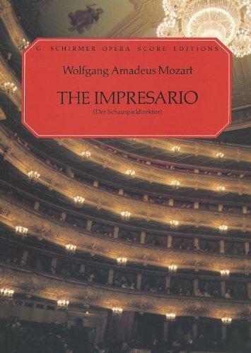 The Impresario: Vocal Score