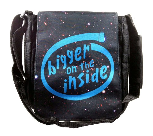 Doctor Who Bigger on the Inside Messenger Bag