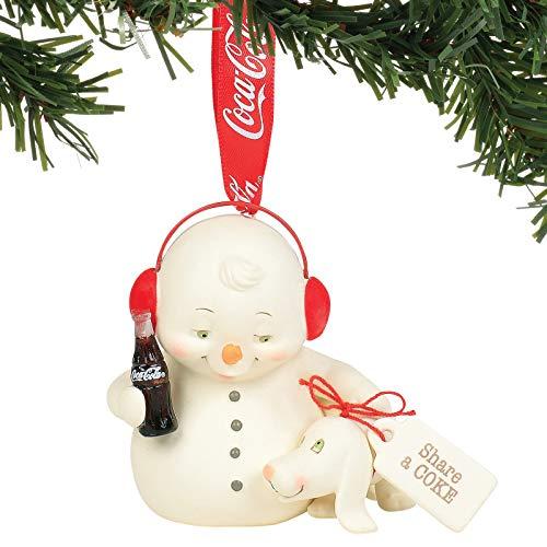 Department 56 Snowpinions Share a Coke Hanging Ornament, 3 Inch, Multicolor