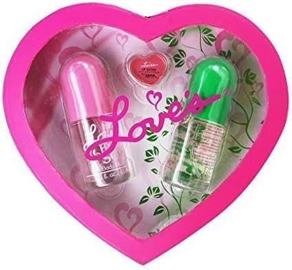 Loves 3 Piece Fragrance Variety Set for Women