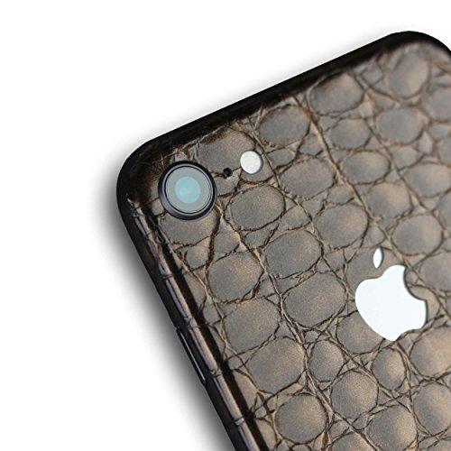 AppSkins Rückseite iPhone 8 Full Cover - Alligator brown