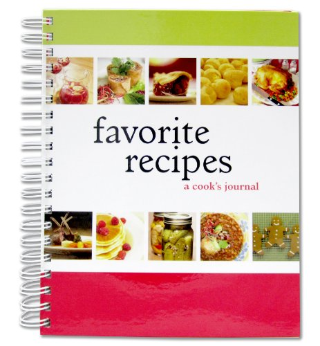 BookFactory Recipe Book  Recipe Journal  Recipe Notebook  Blank Cook Book - A Cooks Journal 150 Total Recipe Pages 8 X 10 75 Individual Entries Laminated Cover Wire-O Binding (JOU-150-7CW-VS (Recipe Journal))
