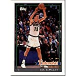 1993 Topps Archives - Luc Longley - Timberwolves - Card 145