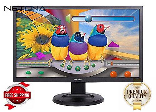 "ViewSonic VG2847SMH 28"" LED-backlit LCD - Black - By NETCNA"