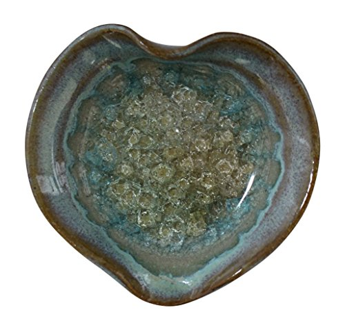 Down To Earth Pottery Pretty Little Dish Votive Holder (Turquoise) by Down To Earth Pottery
