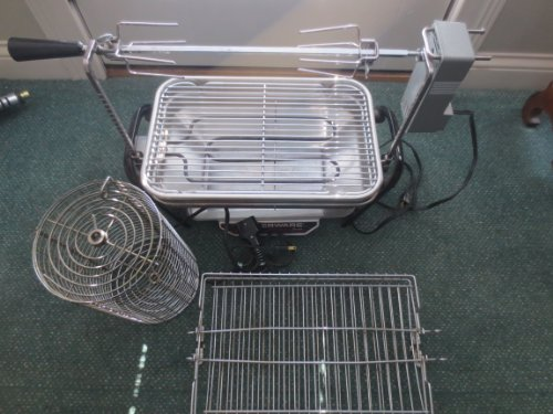 (Farberware Open Hearth Electric Broiler and Rotisserie)