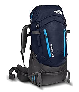 The North Face Terra 35 Backpack (Urban Navy / Hyper Blue, Large / X-Large)