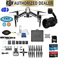 DJI Inspire 2 Quadcopter Kit with Zenmuse X5S Full Accessory Basic Bundle Package Deal