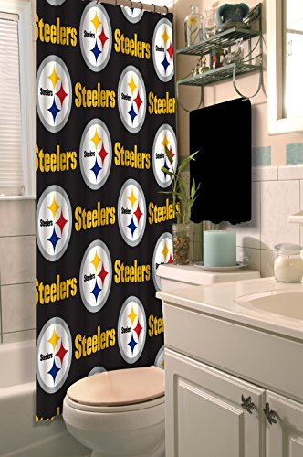 NFL Pittsburgh Steelers Shower Curtain, 72