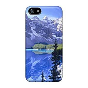 Iphone Cases - Cases Protective For Iphone 5/5s- Anime Best Lake Banff National Park Nature