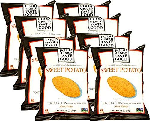 Food Should Taste Good Sweet Potato Tortilla Chips, 1.5 oz (Pack of - Snacks Sweet Potato