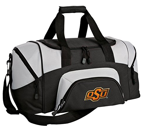 SMALL OSU Cowboys Duffel Bag Oklahoma State Gym Bags or Suitcase (Gym Bag State Ncaa)