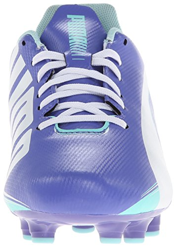 Evo B White Soccer Speed 5 Firm Shoe Blue 3 8 Blue Iris US Ground Puma Aruba Women's 5PqnZ