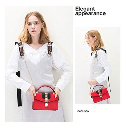 Bandoulière Sac Mini Red à Femmes Petit Main à Casual épaule KYOKIM Crossbody Sac Ladies ZWTpAHqqv