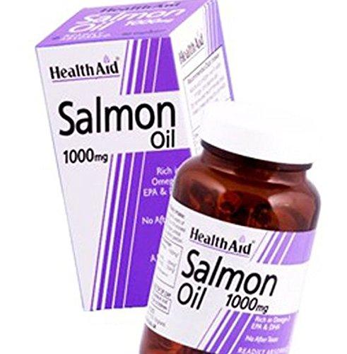HealthAid Salmon Oil 1000mg – 60 Capsules