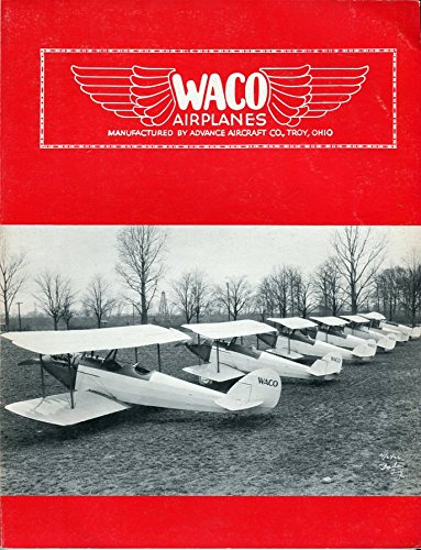 Waco Airplanes 1923 -1942 Waco Aircraft Production for sale  Delivered anywhere in USA