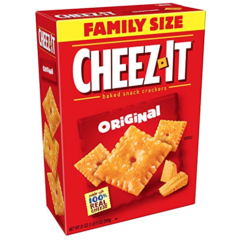Austin Halloween Events (Cheez-It Original Cheese Crackers - School Lunch Food, Baked Snack, Bulk Size, 21 oz Box (Pack of)