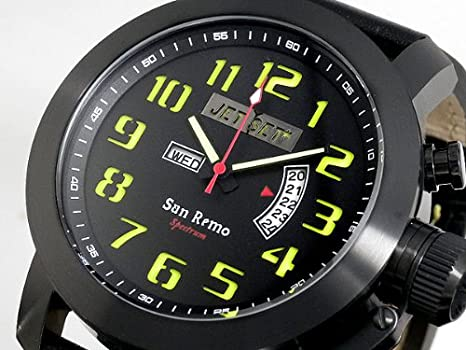 f5b8b5d78232 Amazon   ジェットセット JETSET SANREMO 腕時計 J3380B-217 国内正規品   メンズ腕時計   腕時計 通販