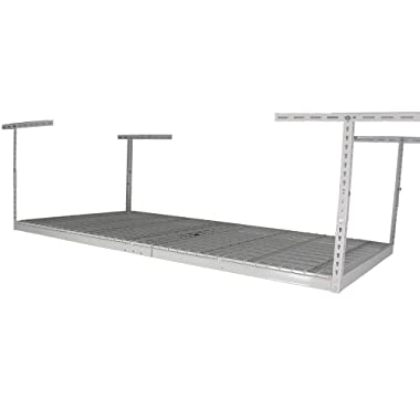 SafeRacks Factory Second - 4x8 Overhead Storage Rack Heavy Duty (24-45  Ceiling Drop) - White