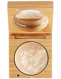 antonym cosméticos ECOCERT certificado orgánico Baked Foundation, 0,29 onza, Beige medio