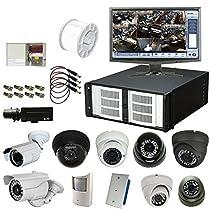 24 Channel 720 FPS D1 Hybrid H.264 DVR Package with Choice of Cameras: eDigital HC2 Platinum, 4U, 4TB, 3yr