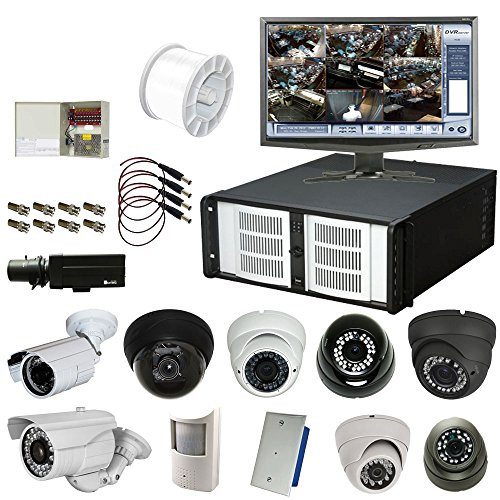 32 Channel 960 FPS D1 Hybrid H.264 DVR Package with Choice of Cameras: eDigital HC2 Platinum, 4U, 4TB, 3yr
