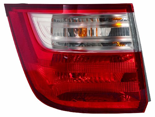 Depo 317-1993L-AS Honda Odyssey Driver Side Outer Tail Lamp Assembly with Bulb and Socket