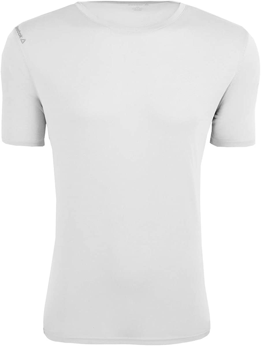 Que agradable O Confundir  Reebok Mens Volt Performance Basic T-Shirt at Amazon Men's Clothing store