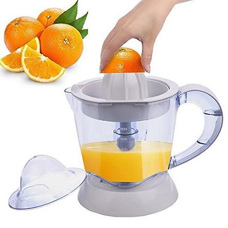 BUSYALL Exprimidor de Naranjas Cítricos Electrico de 1 Litro 40W Interruptor Automático para Hacer Zumos de Limones, Limas, Pomelos etc, Enchufe de la ...