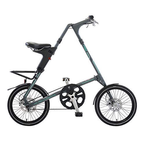 Cycle Force STRiDA SX Folding Bicycle,Matte Grey(18 Inch)