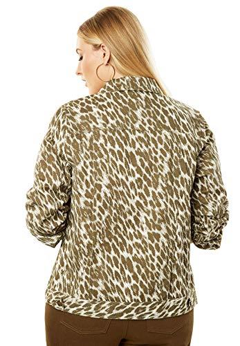 a39b11a1f6 Jessica London Women's Plus Size Classic Cotton Denim Jacket – Elite ...
