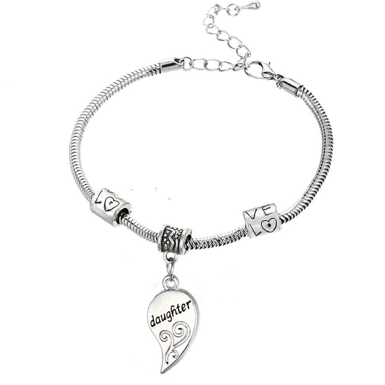 Amazon Mother Daughter Bracelets 2pcs Mother Daughter