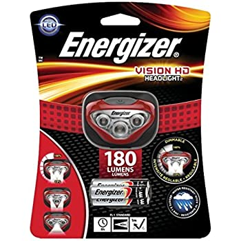Energizer Vision HD LED Headlamp (Batteries Included)