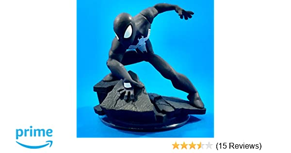 Amazon.com: Disney Infinity: Marvel Super Heroes (2.0 Edition) Spider-Man Black Costume Figure: Toys & Games