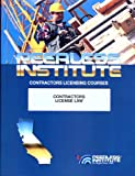 California Law and Business Contractors' Exam Study Book