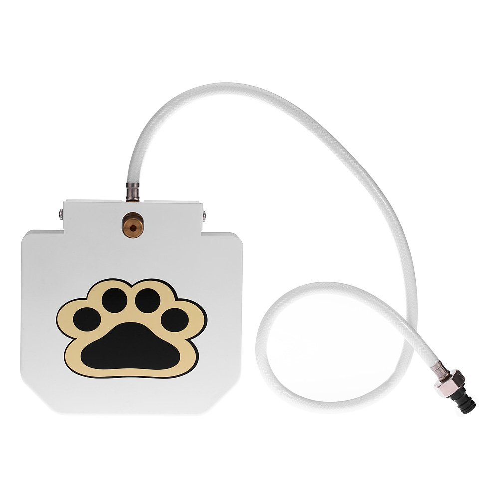 Anself High-quality Stainless Steel Pet Dog Cat Water Fountain with Hose